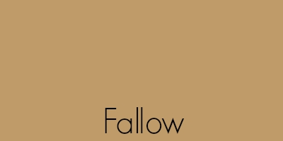 Fallow Is One Of The Oldest Color Names In English Language Recorded As Far Back Year 1000 It Gets Its Name From A Field When
